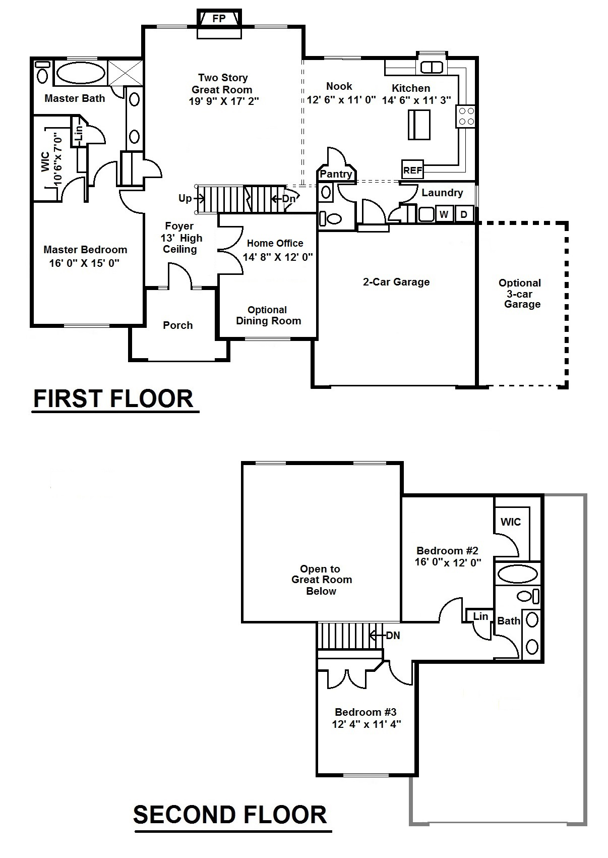 Paterson 3 Bedroom Floor Plan