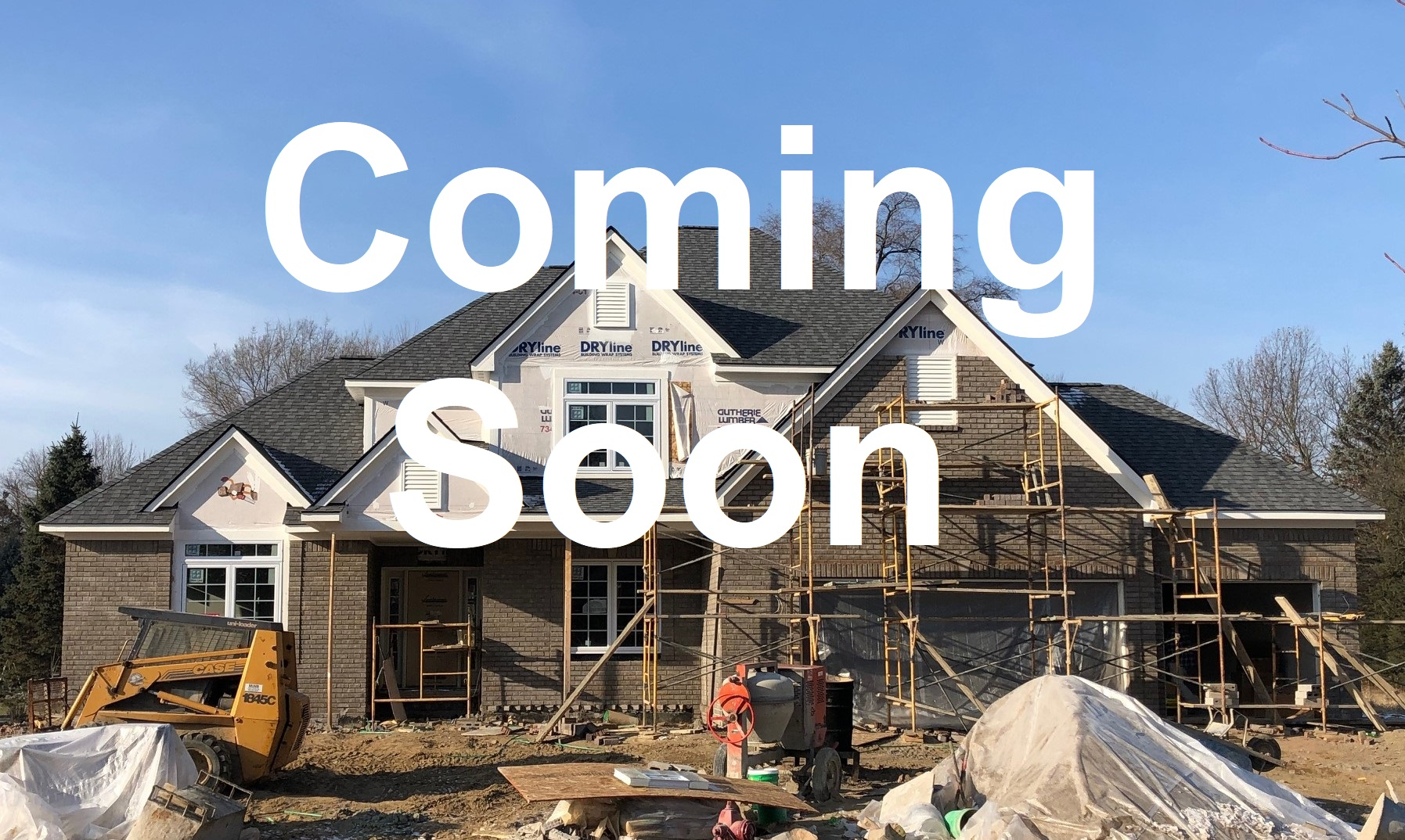 Fast Finish House, Ready April 1, 2020