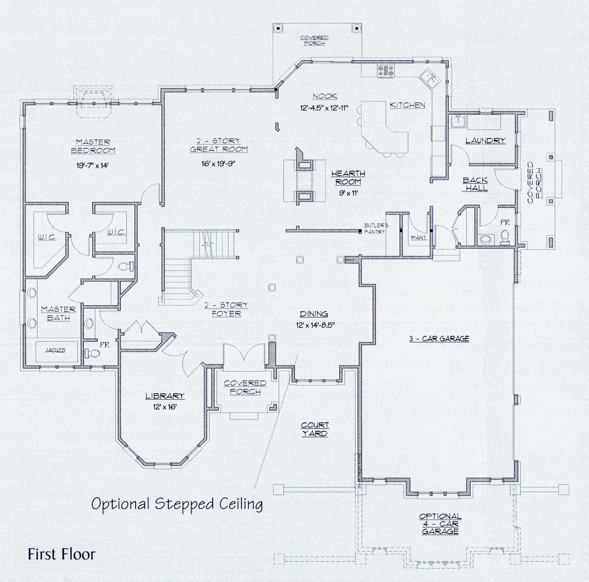 Catalpa First Floor