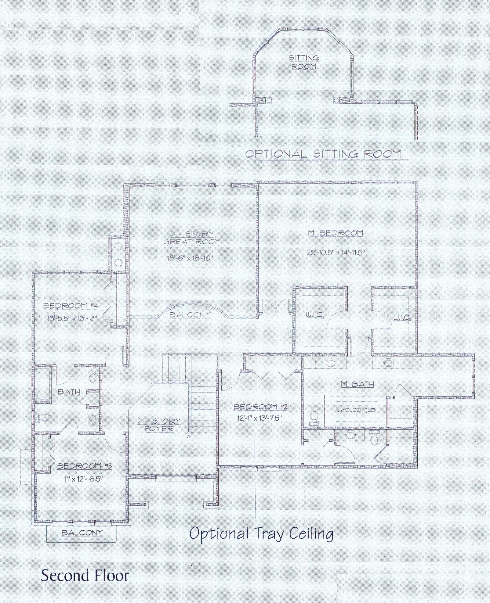 Persimmon Second Floor