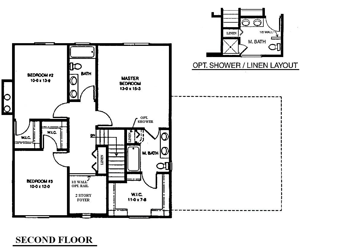 Mi Homes Ranch Floor Plans: The Martingale, Ingomar Farms, Springfiled Township, MI